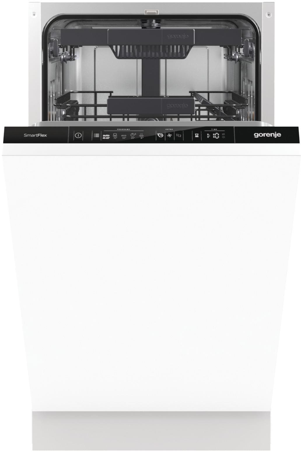 gorenje gv 55110 a vollintegrierbarer einbau geschirrsp ler 45 cm 10 ma gedecke von gorenje. Black Bedroom Furniture Sets. Home Design Ideas