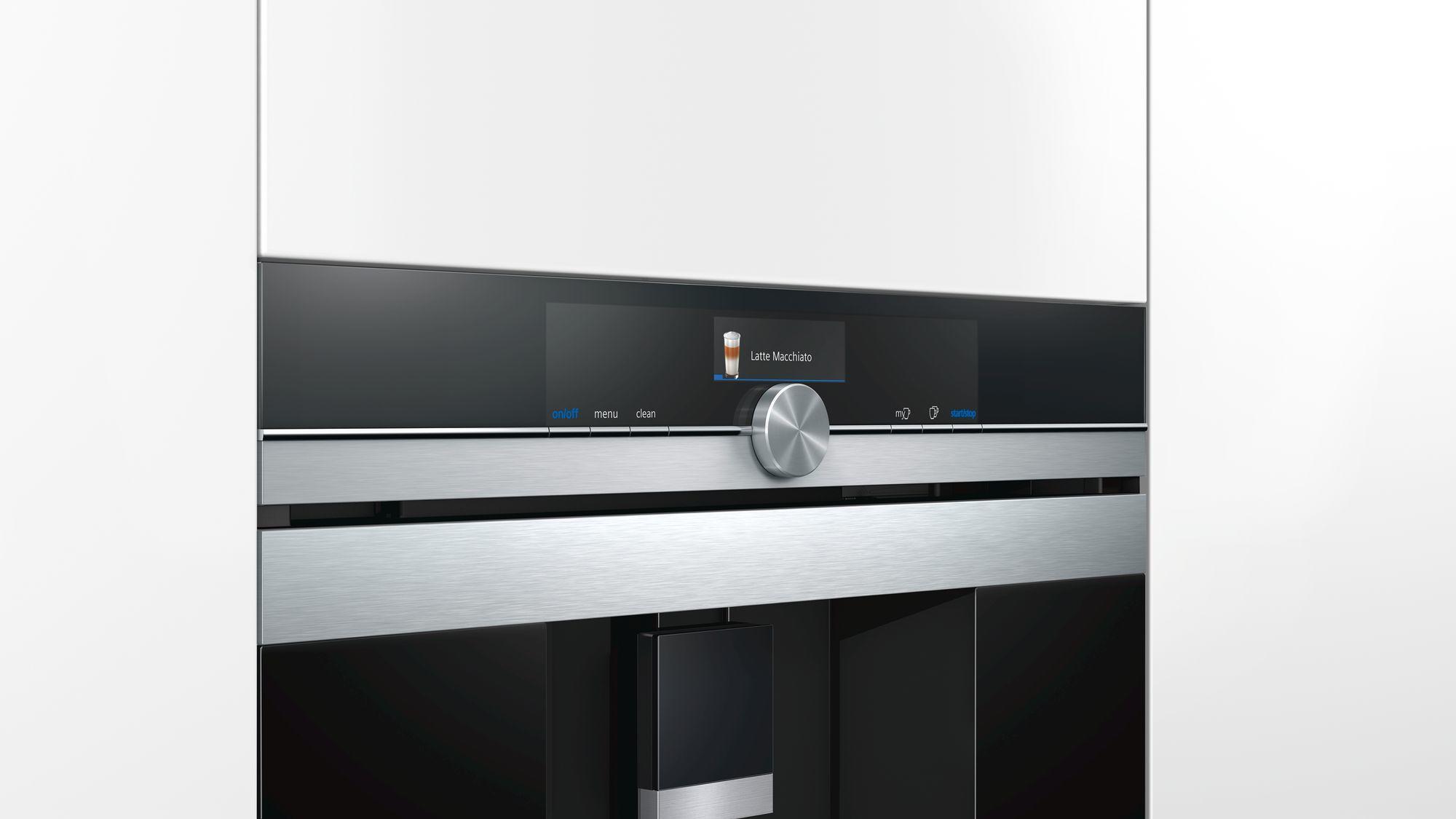 siemens ct636les6 einbau kaffeevollautomat 1600 w senseflow system edelstahl schwarz von. Black Bedroom Furniture Sets. Home Design Ideas