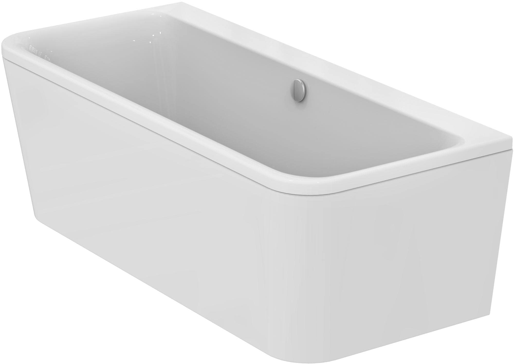 Ideal Standard Tonic II D-Form-Badewanne, BxTxH 1800 x 800 x 610mm ...