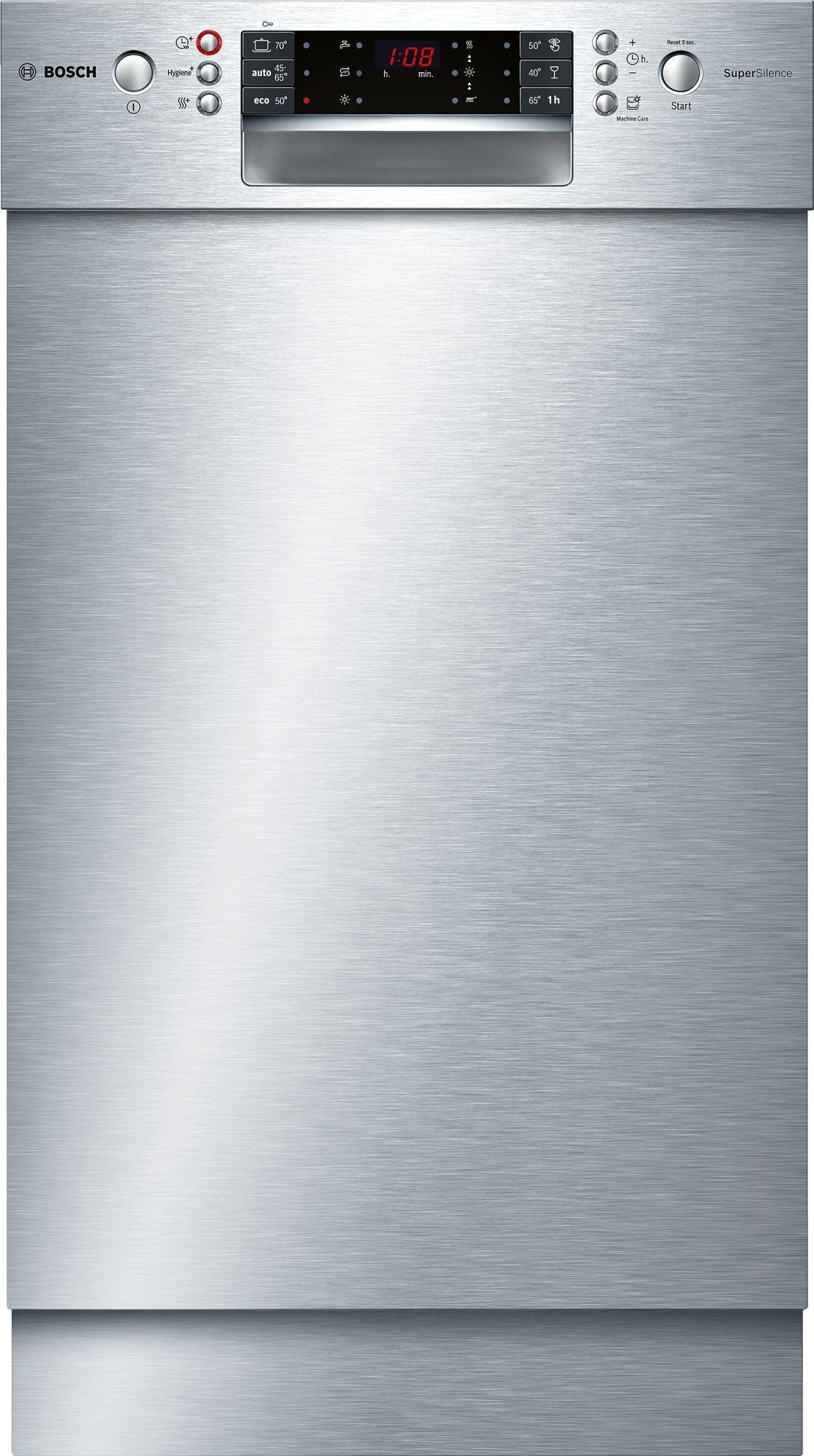 Bosch SPU66PS00E A++ Unterbau Geschirrspüler 45 Cm Breit, 9 Maßgedecke,  AquaStop