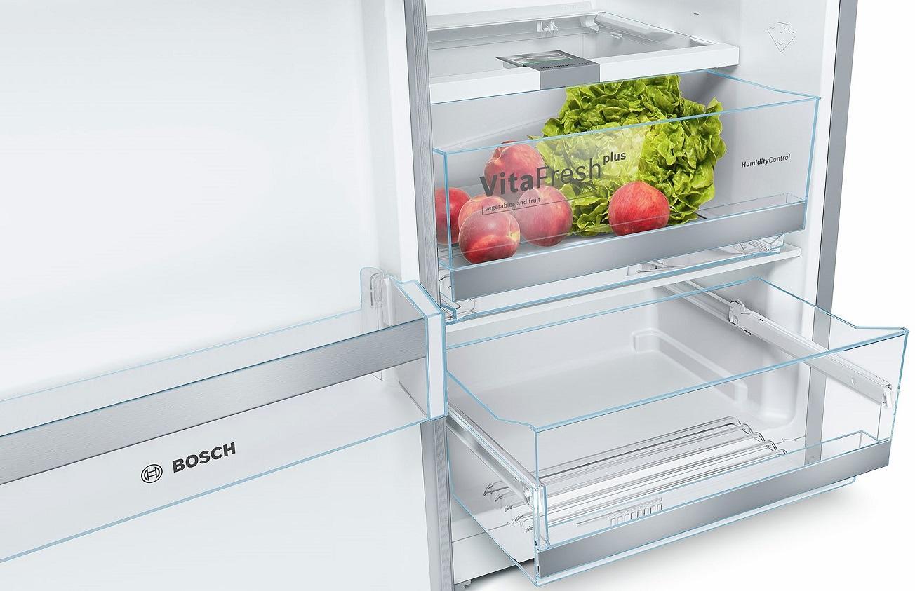 ... Bosch KSV36BI3P A++ Stand Kühlschrank, 346l, VitaFresh Plus, EasyLift,  EasyAccess, ...