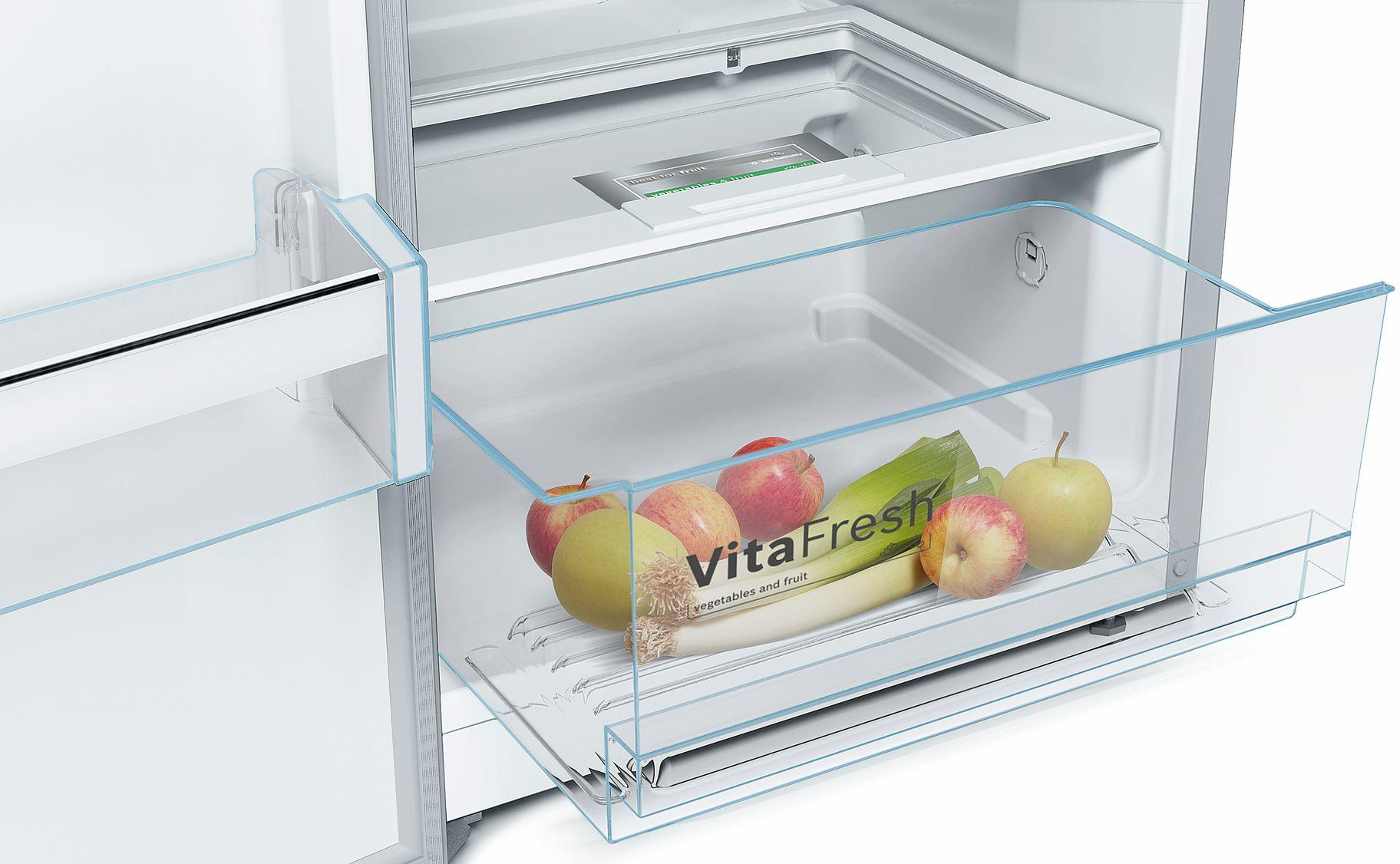 Bosch Kühlschrank Vergleich : Bosch ksv vl p a kühlschrank freshsense super kühlen
