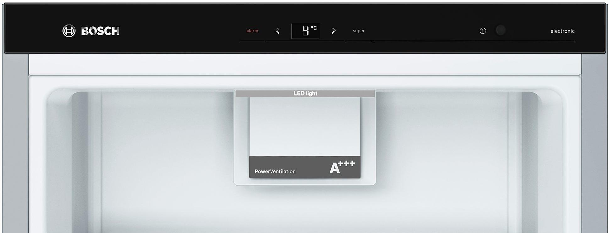 Bosch KSV36AI4P A+++ Kühlschrank, 346l, 60cm Breit, VitaFresh Plus, Perfect  Fit, ...