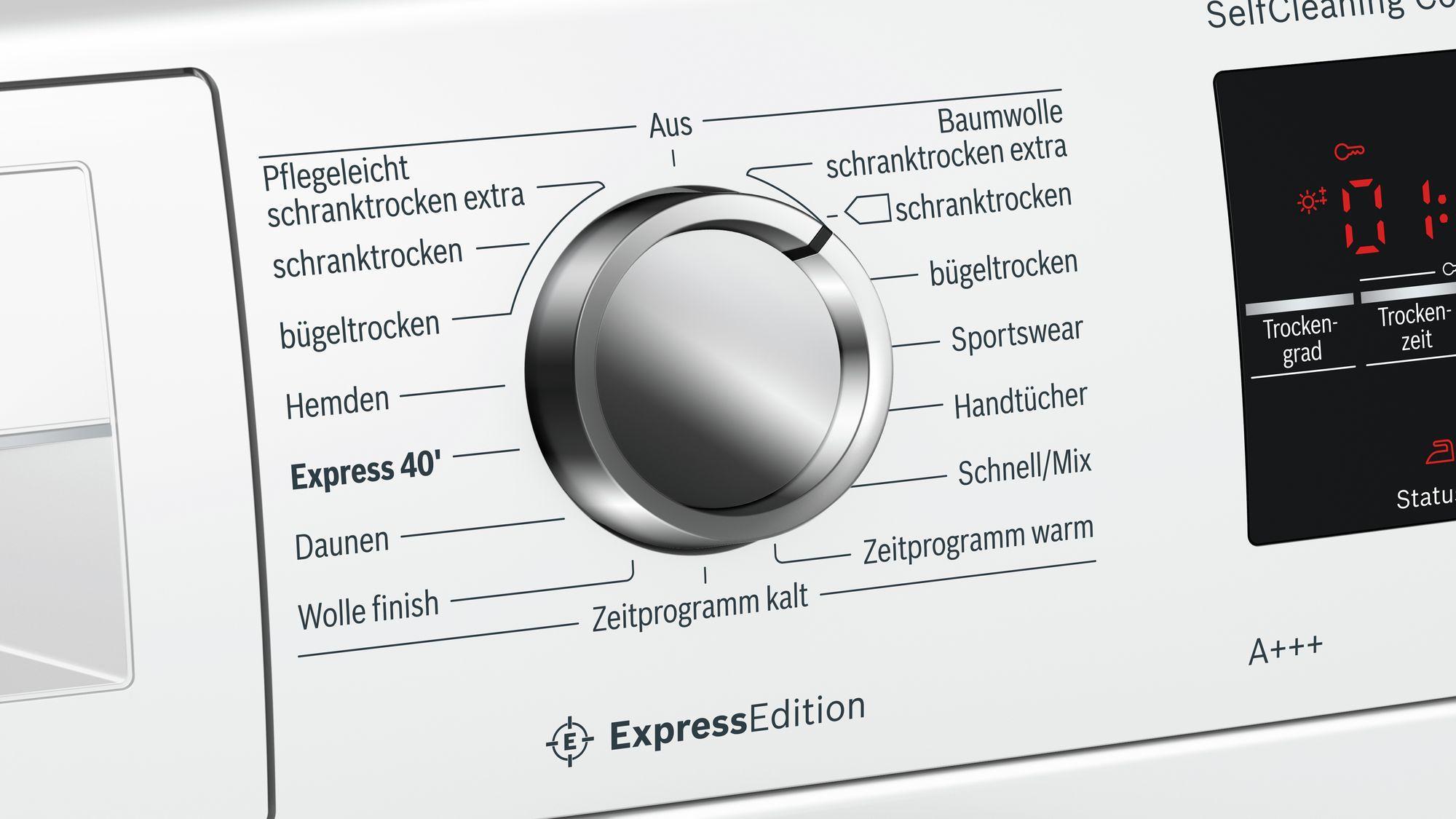Bosch wtw h kg a wärmepumpentrockner selfcleaning