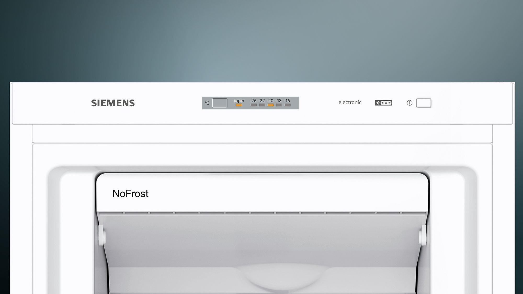 Siemens Kühlschrank Rollen : Siemens gs nvw p a stand gefrierschrank cm breit nofrost