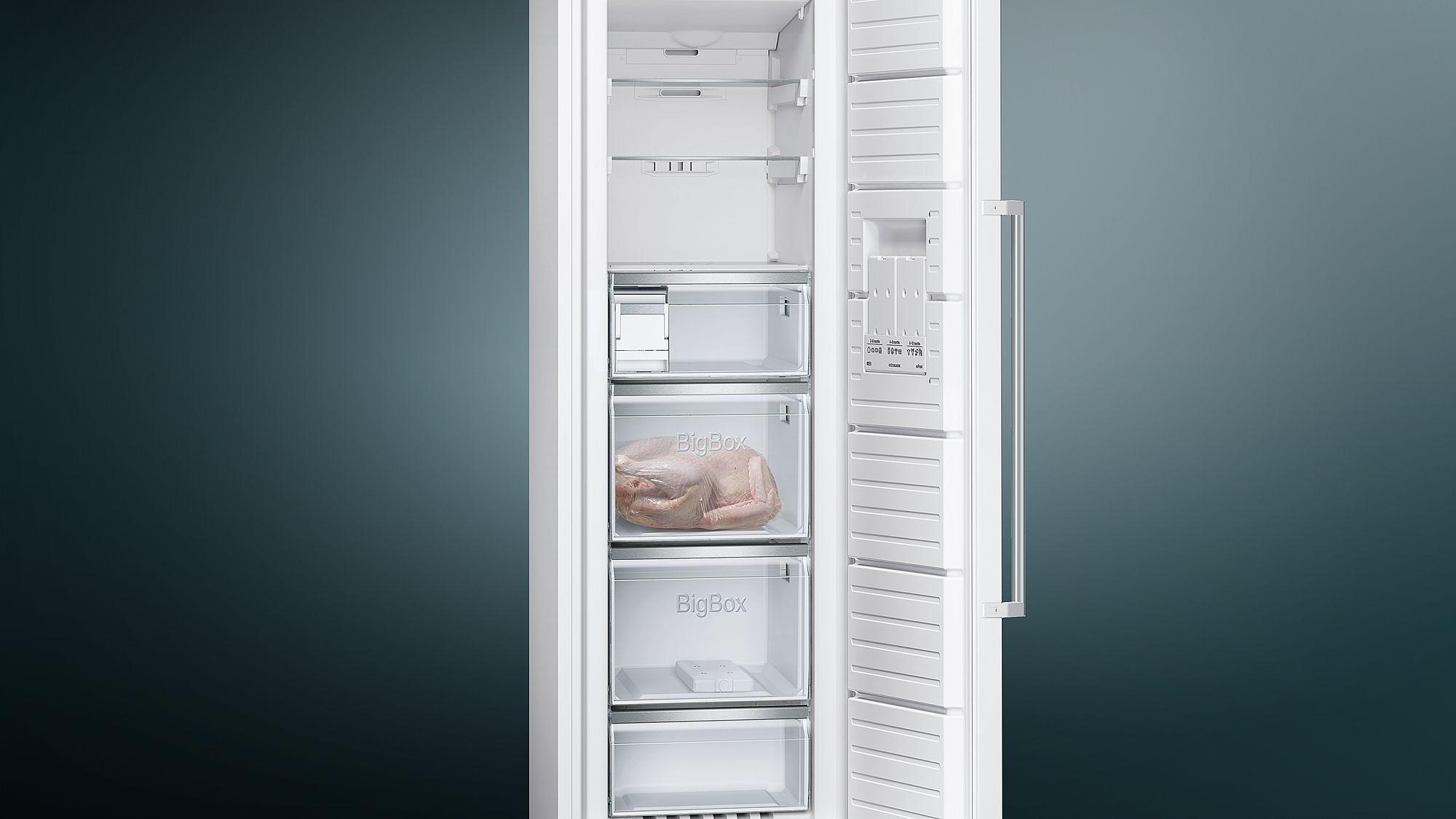 Siemens Kühlschrank Unterschiede : Siemens gs36naw3p a stand gefrierschrank 60 cm breit nofrost