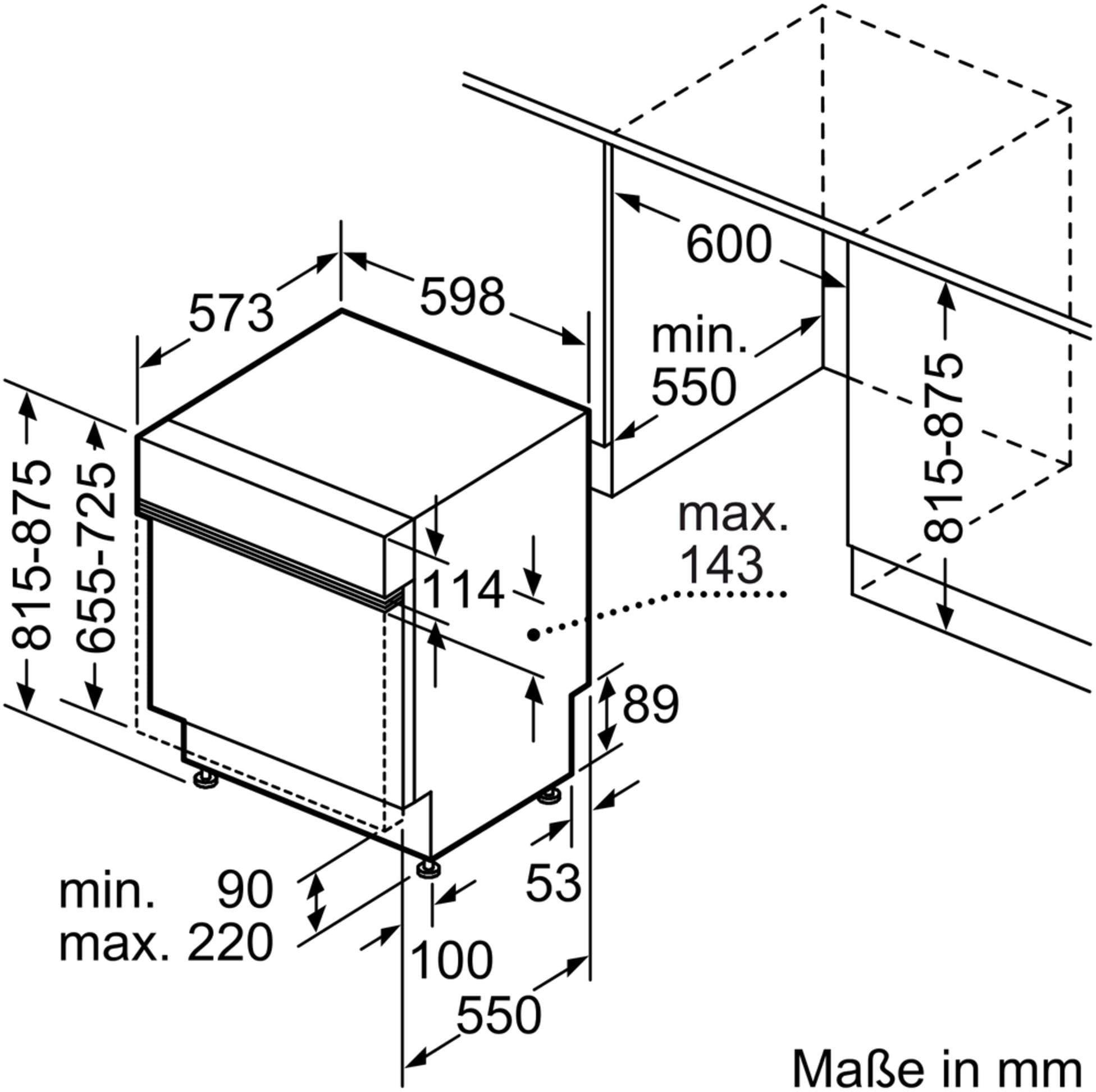siemens sn536s01ge iq300 a integrierbarer einbau. Black Bedroom Furniture Sets. Home Design Ideas