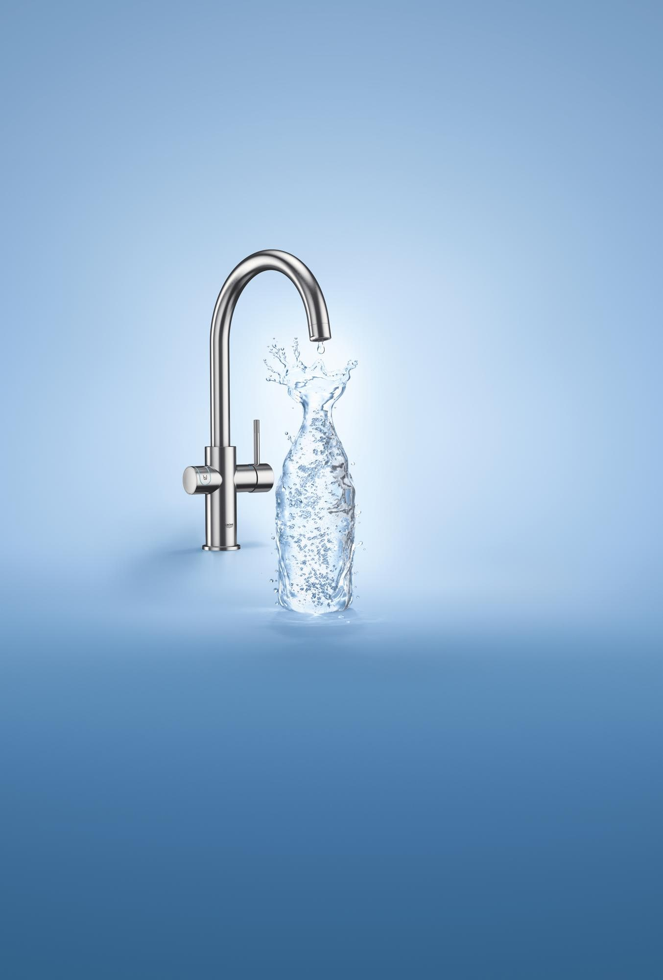 grohe blue home c auslauf starter kit bis 150 schwenkbar. Black Bedroom Furniture Sets. Home Design Ideas