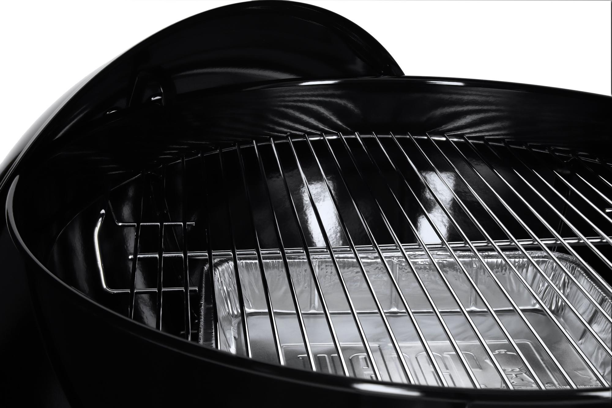Gas Oder Holzkohlegrill Weber : Weber original kettle premium Ø cm holzkohlegrill schwarz von