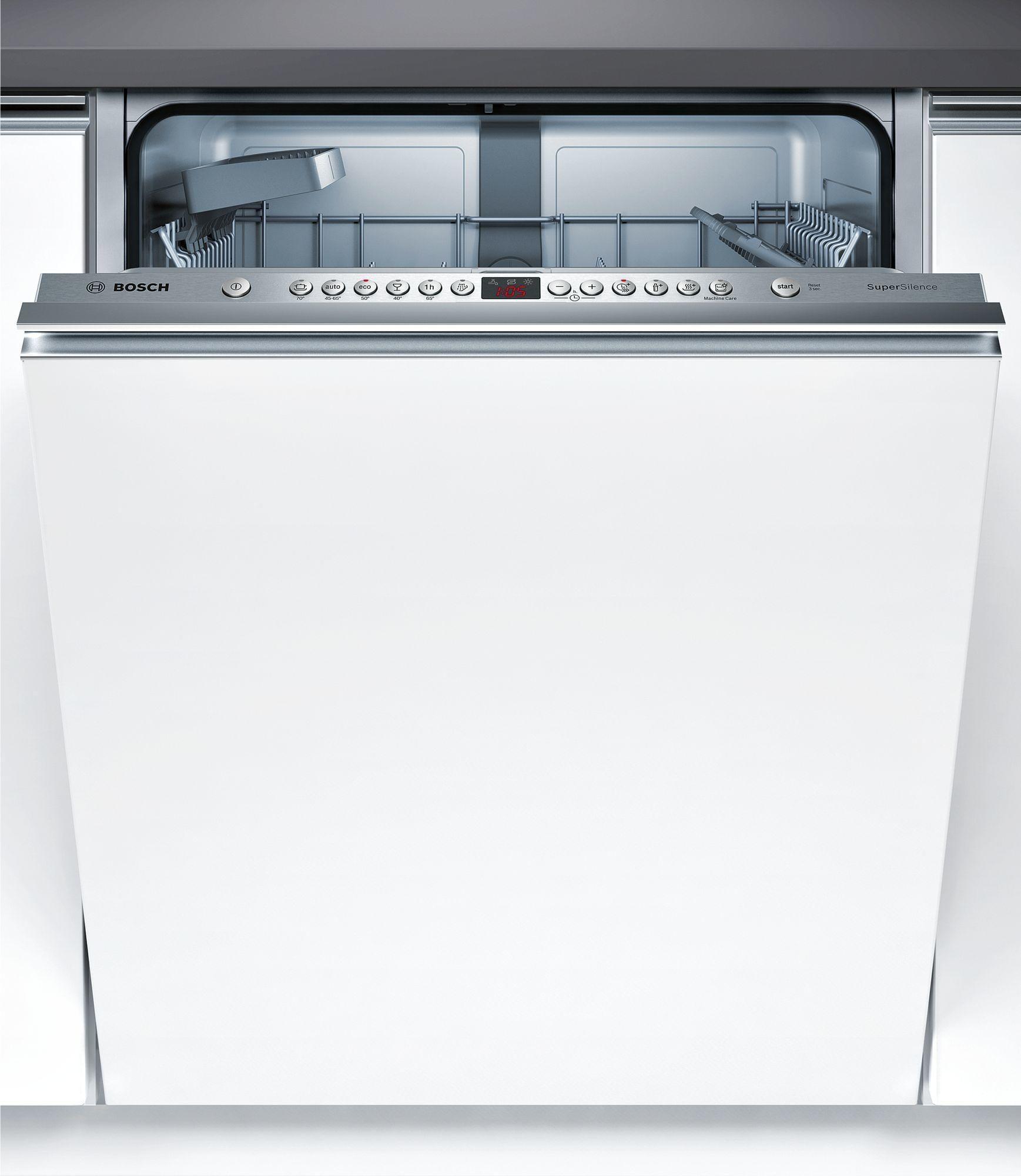 Bosch Vollintegrierbarer Geschirrspüler Serie 4, Serie 4 Smv46kx03e
